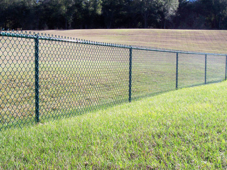 boundary chain fence