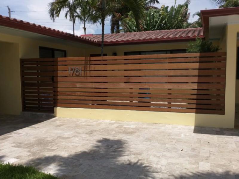 nice wooden install