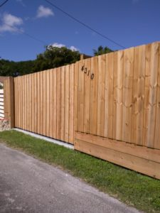 garden privacy fencing