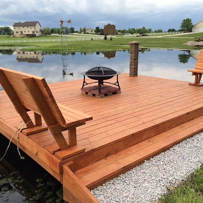 cedar dock design